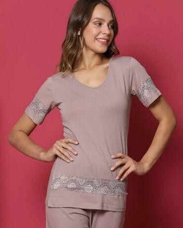 Стильная кружевная пижама Размер 46 Качество  Цена 1500с