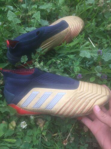 Профессиональная модель Adidas Predator без шнурков. Размер: 40. Торг