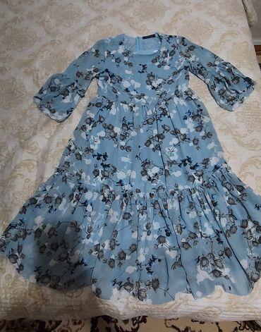 1300с. Легкое шифоновое платье свободного кроя,подойдёт для