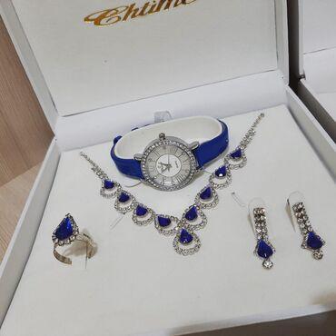 Украшения - Ош: Женские наборы  Прекрасны для подарка ❤ Серебра нет   1 фото 2500с 2 ф