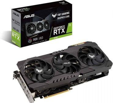 Asus tuf gaming geforce rtx 3090 oc 24gbпродаются новые видеокарты !