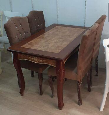 Masa ve oturacaq desti stol stullar стол с стулями YALNIZ ORGINAL