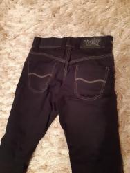 Muške Pantalone | Beograd: Crne muške pantalone veličina 34