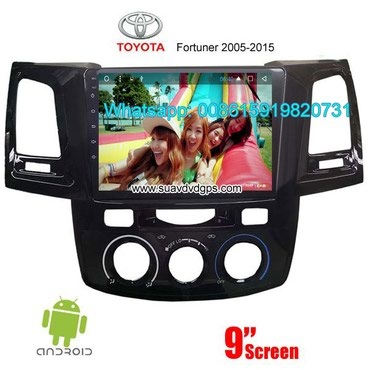 Toyota Fortuner Car audio radio android GPS navigation camera in Kathmandu