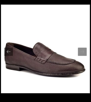Италия новые мужские туфли из натуральной кожи на 45р