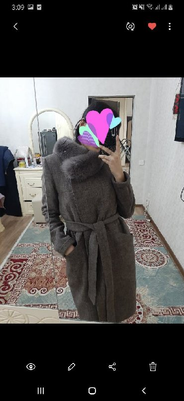 турецские пальто в Кыргызстан: Турецское пальто,почти новаяодела 6.7раз.46.48размер