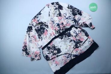 1537 объявлений: Жіноча блуза у квітковий принт Peruna, р. S   Довжина: 72 см Ширина пл