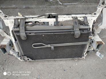 Автозапчасти в Душанбе: На Хонду Стрим. Радиатор+радиатор кондиционера (привозной с Японии)