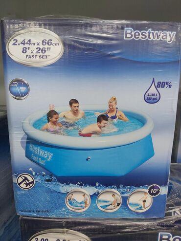 Борт надувной бассейн  Фирма :Бествей Размер :244×66 Цена:3200