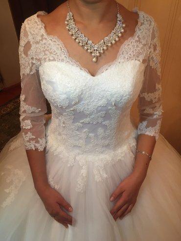 Срочно продаю посебестоимости свадебные платья , размеры от 42-44 (кор в Бишкек
