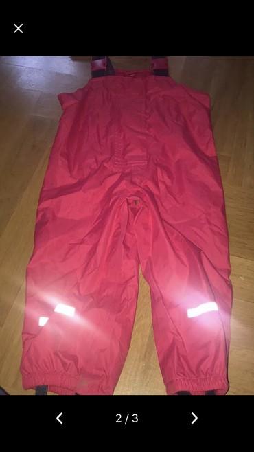 Decija jakna - Pozarevac: Decije pantalone i jaknica za kisu,vel 92