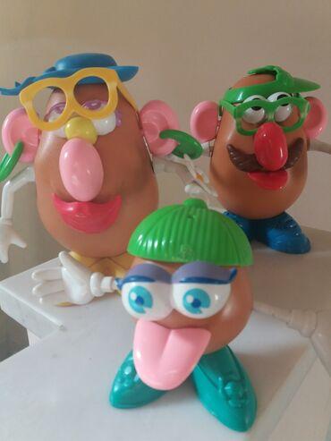 Παιδικά αντικείμενα - Ελλαδα: Οικογενεια πατατα