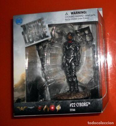 Figura - Srbija: Schleich Figura Justice League Movie DC Comics : Cyborg  Nov