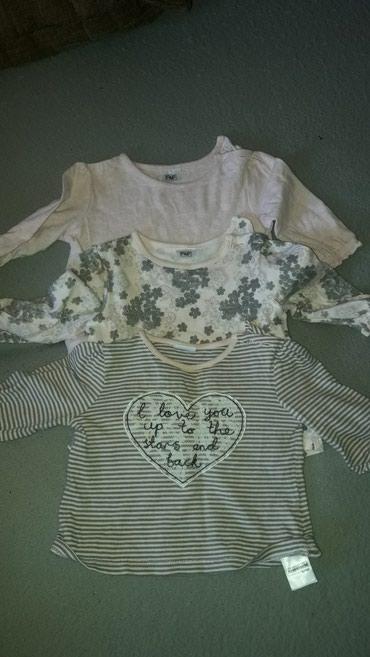 Kosuljica-i-bluzice-je - Srbija: F&f bluzice vel 62 do 3 meseca mada smo nosili i duze