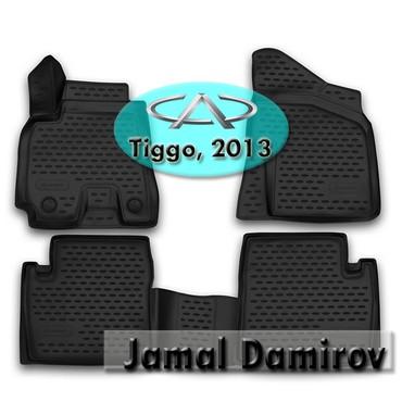 Bakı şəhərində Chery Tiggo 2013 üçün poliuretan ayaqaltılar. Полиуретановые коврики