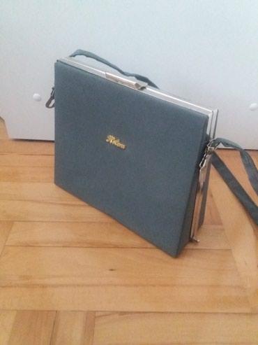 Torba cm x - Srbija: Zenska torba, sive boje, 23x8, visina 20 cm. 500 dinara