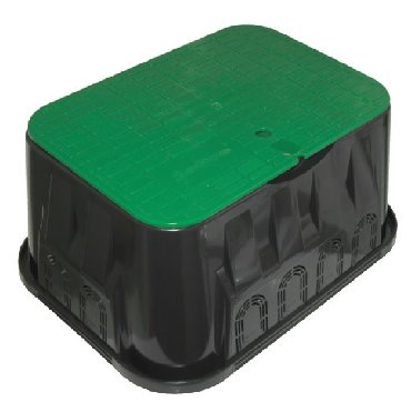 """Колодец монтажный прямоугольный 12""""Коробка для клапана"""