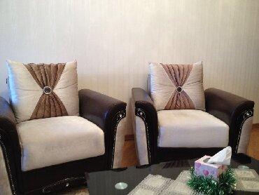 атлант кресло в Азербайджан: Продаю 2 кресло (Турция) в отличном состояние