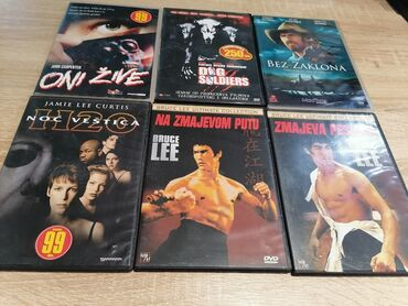 9285 oglasa: 6 original cd ova. Razni filmovi. Komplet sadrži 6cd mogu se