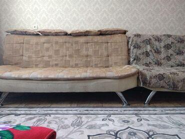 Двуспальные кровати - Кыргызстан: Мягкая мебель американка 12.000