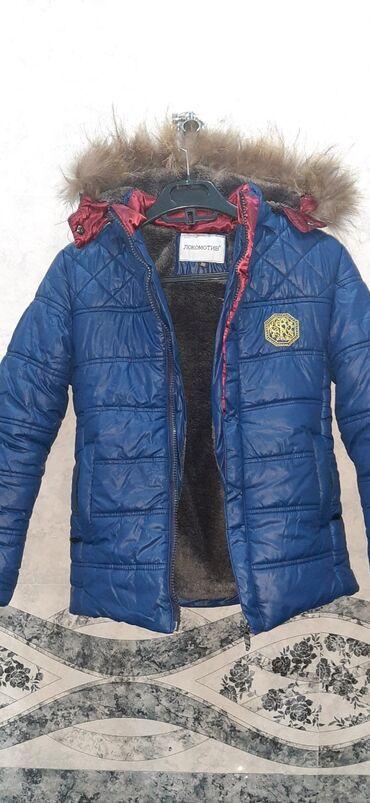 usaq ucun islenmis masinlar в Азербайджан: Куртка детская на 7-8 лет 1 год одевали очень теплая.Покупала очень