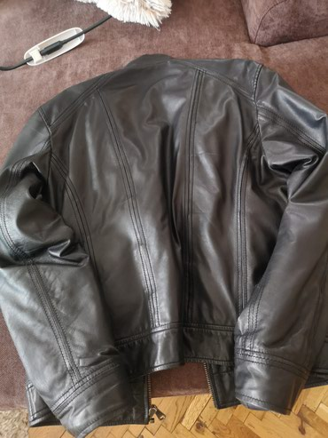 Muška odeća | Stara Pazova: Top Kožna jakna muška, veličina L. Prava koža