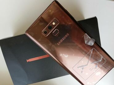 заказ авто из кореи в бишкек в Ак-Джол: Samsung Galaxy Note 9 Коричневый