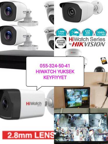 Hiwatch Tehlukesizlik kamera nezaret sistemi yuksek gece ve gunduz