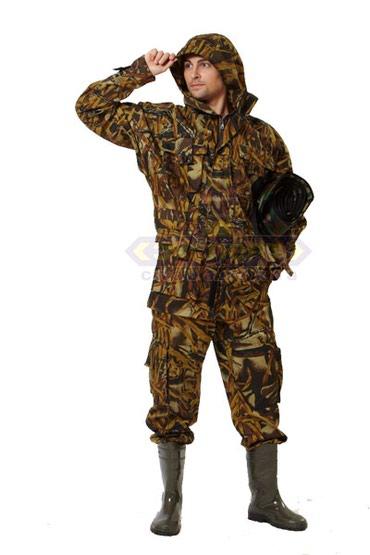 """Другая мужская одежда в Бишкек: Костюм """"Саванна"""" летний камуфлированный, (мокрый камыш) Смесовая ткань"""