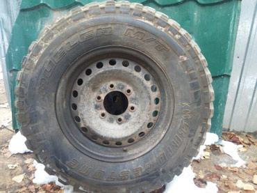 Продаю колесо 1штук размер 245/75/16 было запаска идеальный состоянии в Шопоков