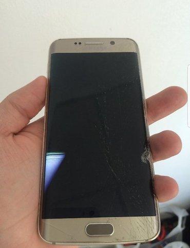 Продам S6 edge. разбит экран, все работает отлично в Ош