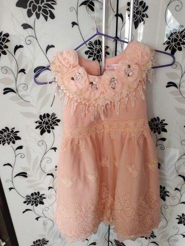 На 3-4 года платье в хорошем состоянии  в Бишкек