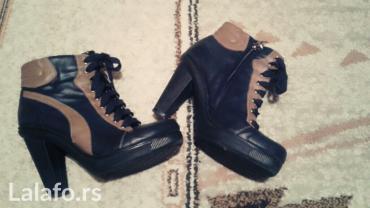 Zenske kratke cizme gleznjace na pertle i stikle 39 - Batocina