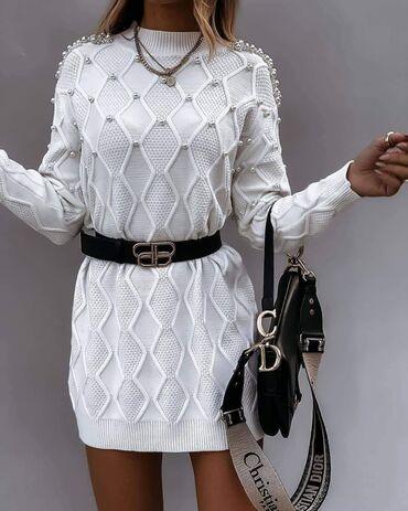 Duks haljina - Crvenka: A K C I J A. Prelepa dzemper-haljina 1.950din