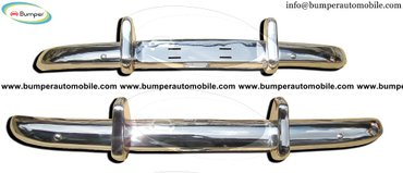 Volvo PV 544 Euro year (1958-1965) bumpers stainless steel in Amargadhi