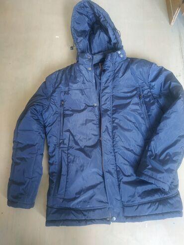 Срочно продаю куртку хороший материал очень тёплый почти новый 56