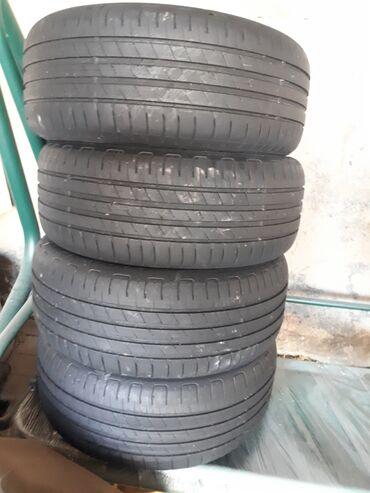 шины 205 55 r16 в Кыргызстан: Goodyear efficient grip. Лето 205/55/r16. Состояние отличное, остаток