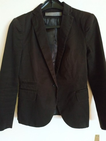 Tamno braon Zara Basic sako M veličine. Nošen ali u besprekornom - Belgrade
