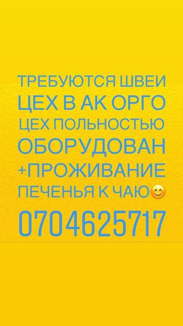 работа в бишкеке с ежедневной зарплатой в Кыргызстан: Требуются Опытные швеи. Работа постоянная. МОДЕЛИ ЛЕГКИЕ,Машинки бесш