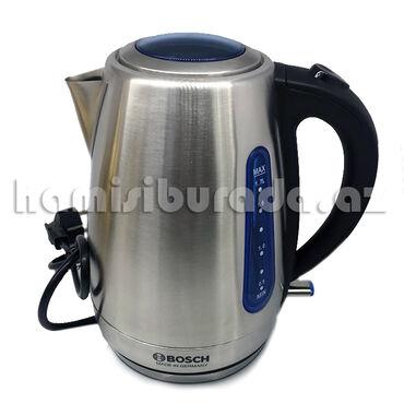 Elektrik çaydanları - Azərbaycan: Elektrikli Çaydan Bosch BS-811ÖzəlliklərFunksiyaları su səviyyəsiGüc