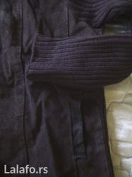 Nova jaknica, kombinacuja prevrnute koze i trikotaznih delova na - Zrenjanin