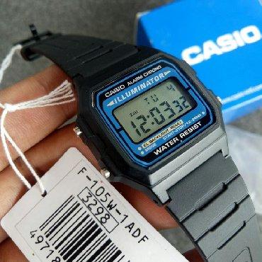 retro vesy в Кыргызстан: Синие Унисекс Наручные часы Casio