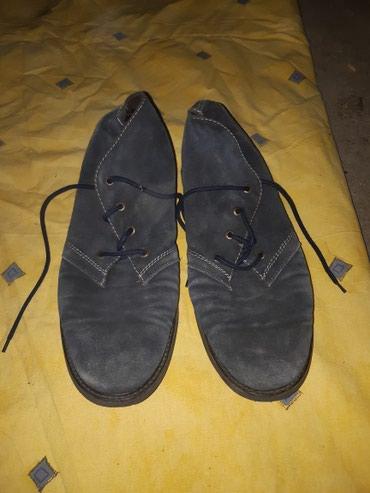 Muške kožne cipele, broj 44, teget boje - Kragujevac