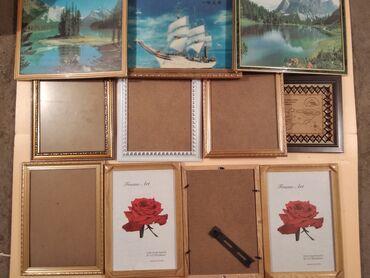 Картины и рамки для картин Все отдам за 1000 сомов