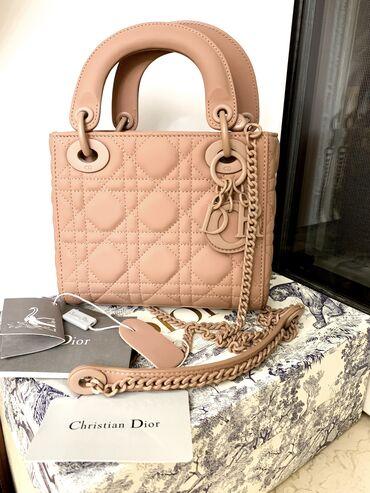 Lady Dior mini matte bag. Yeni çanta. 600 azn alinib, satilir 330 azn