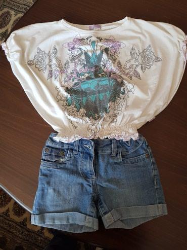 Dve majice i šorc za devojčice. Veličina 8 - Novi Banovci