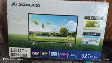 Совершенно новый без пользования телевизор с интернетом. Диагональ