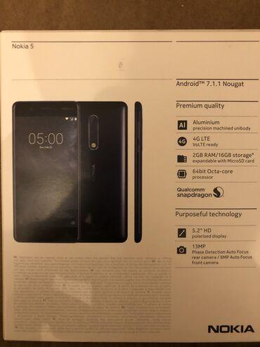 nokia e7 в Азербайджан: Nokia 5. Telefon yenidir heçvaxt istifadə olunmayıb. android