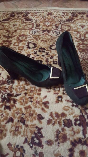 Туфли замшевые. на 37 новые в Бишкек