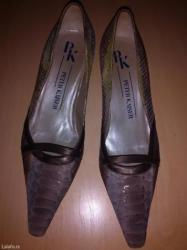 Ocuvane cipele od prevrnute koze broj 40 bez ostecenja - Batajnica